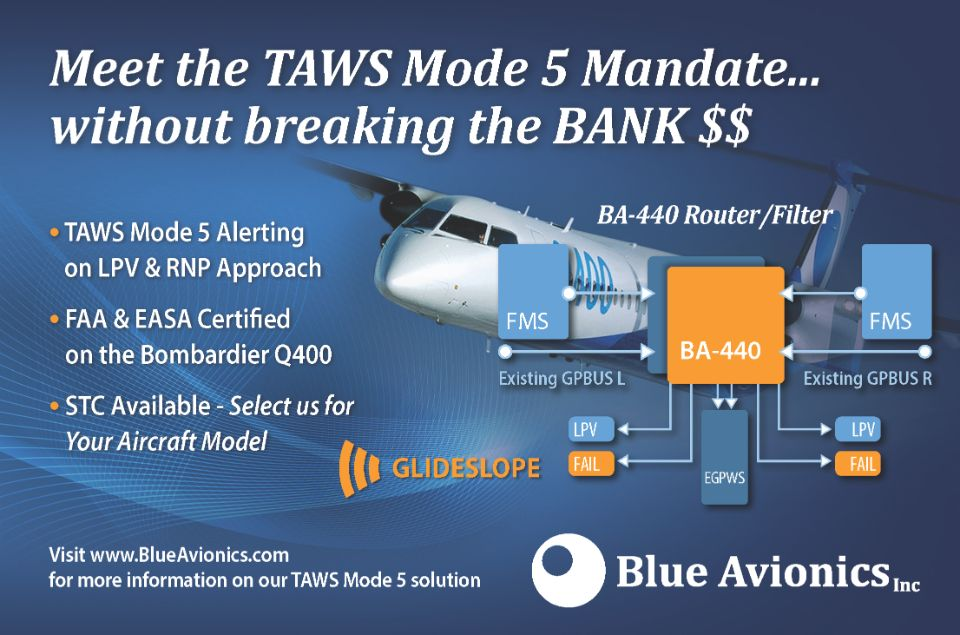 Blue Avionics INC